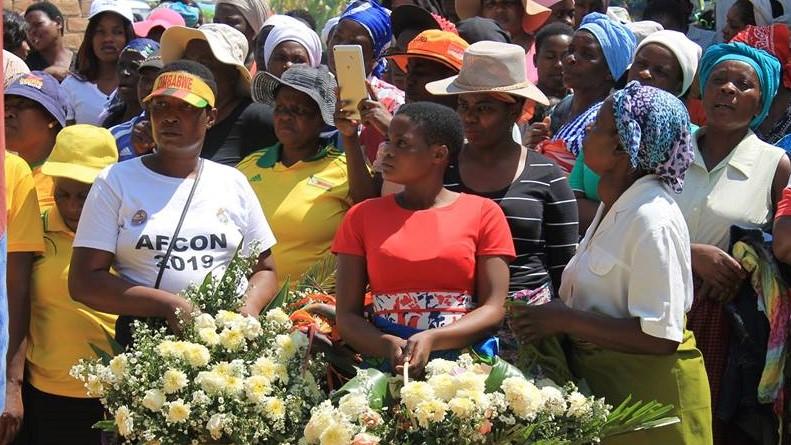 Warriors fan Egna Nyamadzawo laid to rest