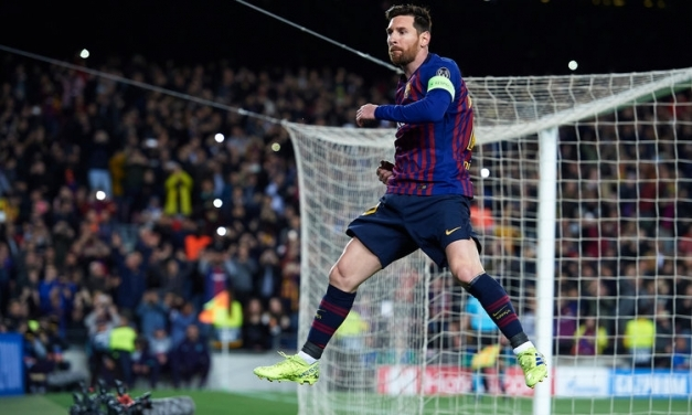 Watch: Messi hat-trick earns standing ovation from Betis fans