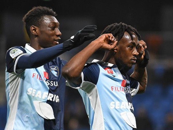 Kadewere brace powers Le Havre to victory