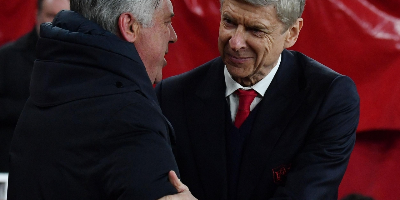 Ancelotti clarifies Wenger talks