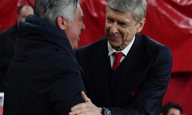 Ancelotti clarifies Wenger talks