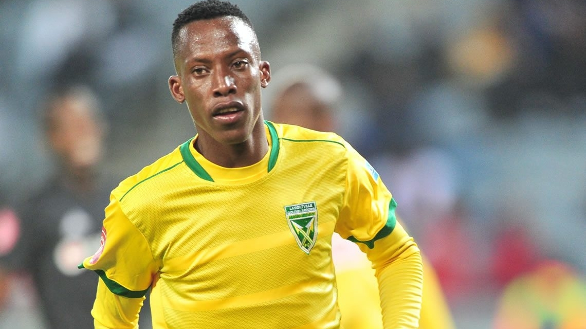 Divine Lunga scores his first goal for Arrows