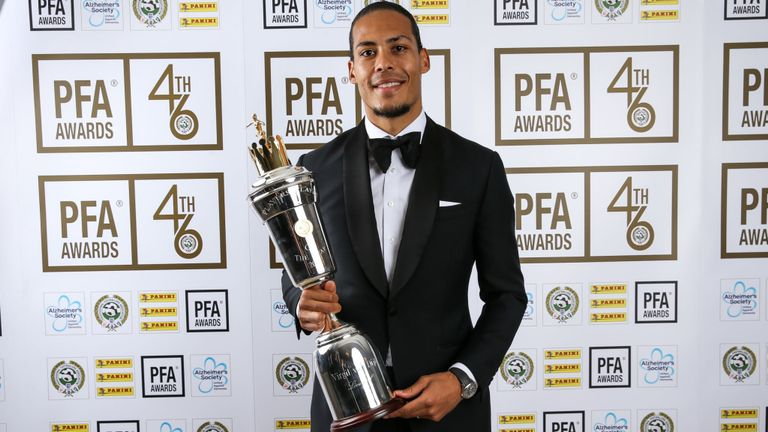 PFA Awards Results: Virgil van Dijk, Raheem Sterling scoop accolades