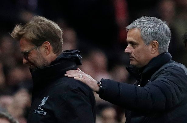 Mourinho hits back at Klopp complaining about Man Utd's tactics