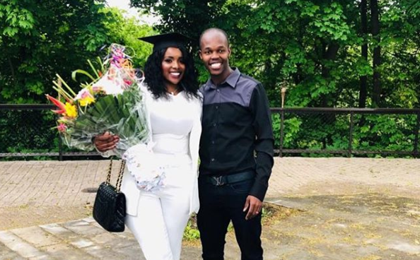 The fourth anniversary: Musona posts a rare image of his wedding