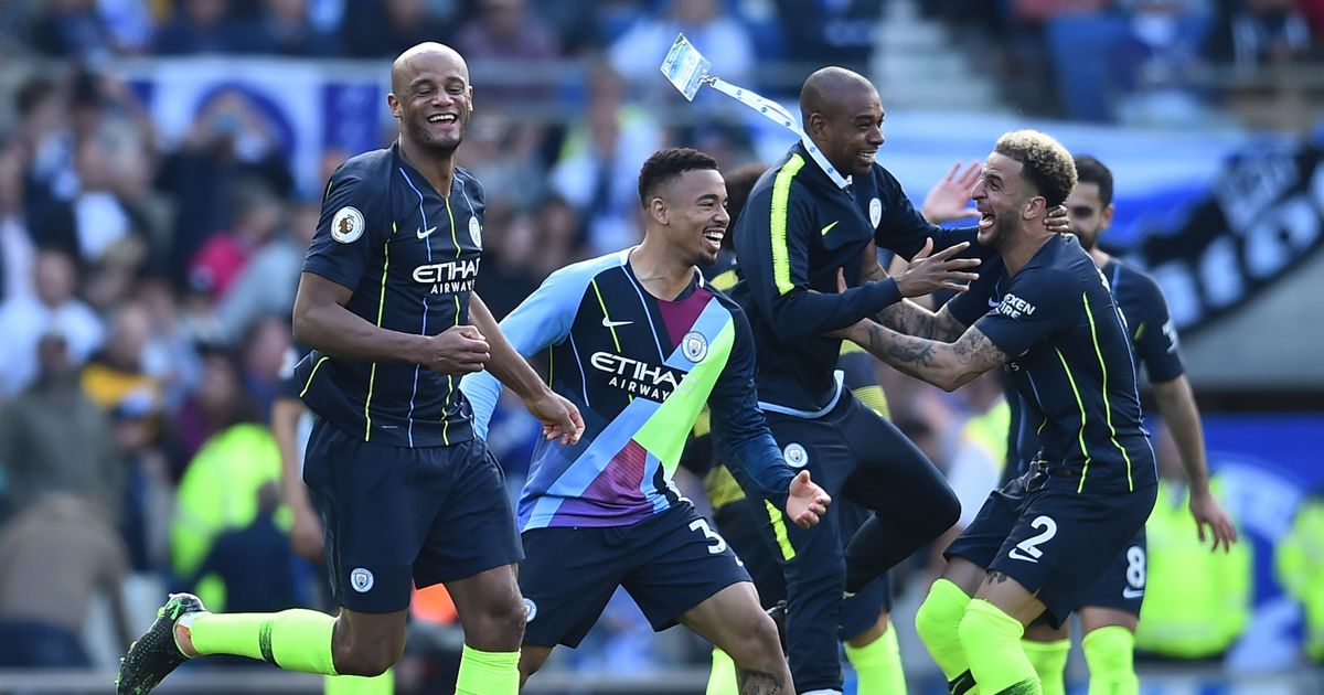 Man City retain EPL title for the first time in club history