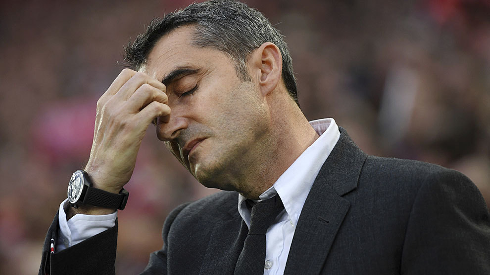 I have Barca board backing: Valverde