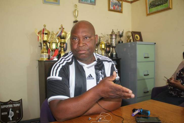 We are going nowhere, says Madinda as he slams his players