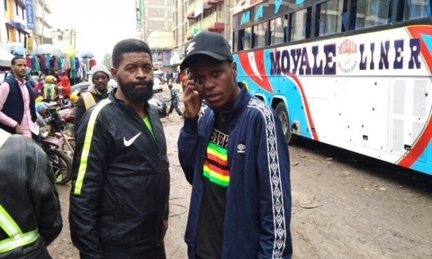 Video: Alvin Zhakata's South African counterpart gives up on reaching Egpyt by road