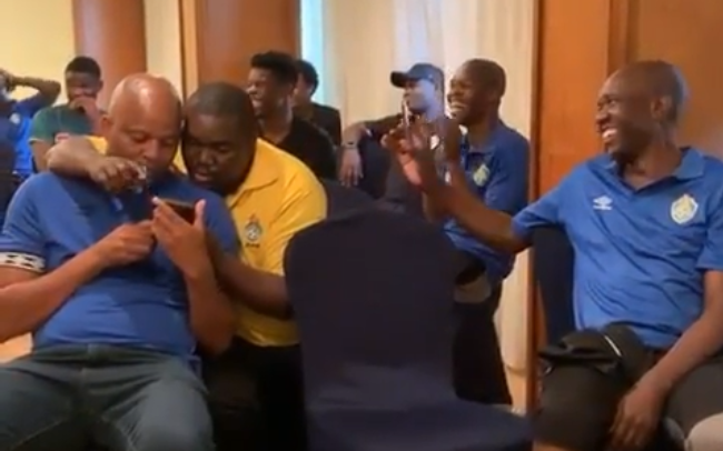 Watch: Warriors motivate Musona by singing Neria in a hilarious way