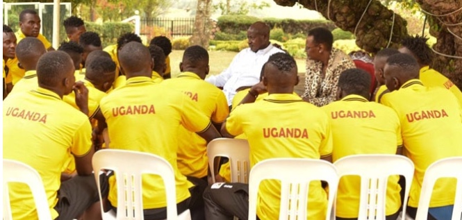 Uganda President gives Cranes US$1 million
