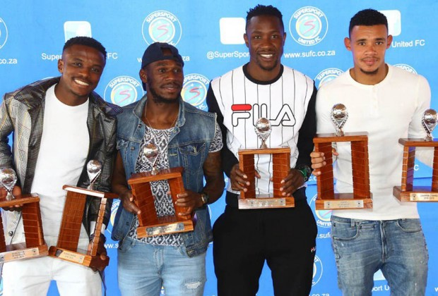SuperSport United honour two Zim players