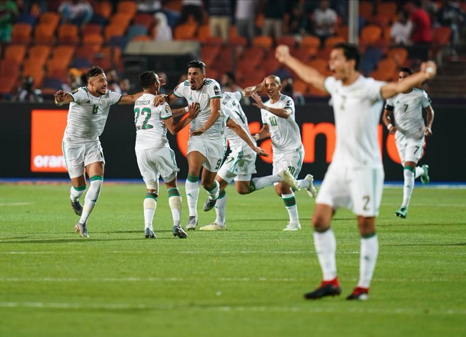 Algeria crowned Africa champs after beating Senegal in Afcon final