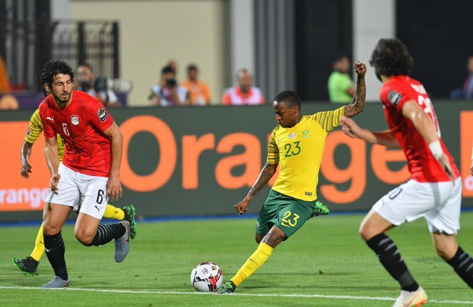 South Africa stun hosts Egypt to reach Afcon quarters