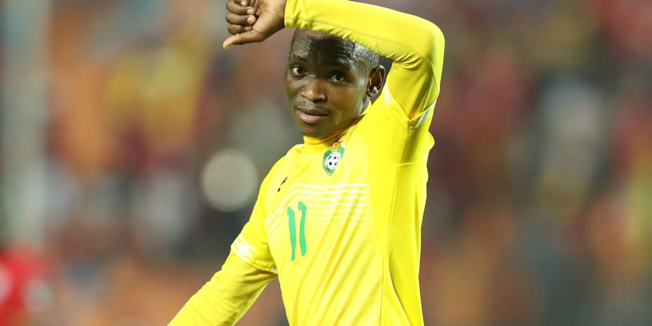 Nengomasha gives Billiat advice regarding his future