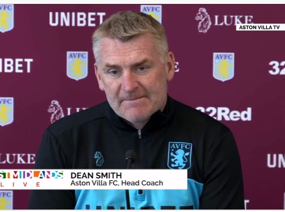 Video: Aston Villa coach Dean Smith talks about Nakamba and Wesley