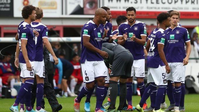 Kompany's Anderlecht struggling in the Belgian league