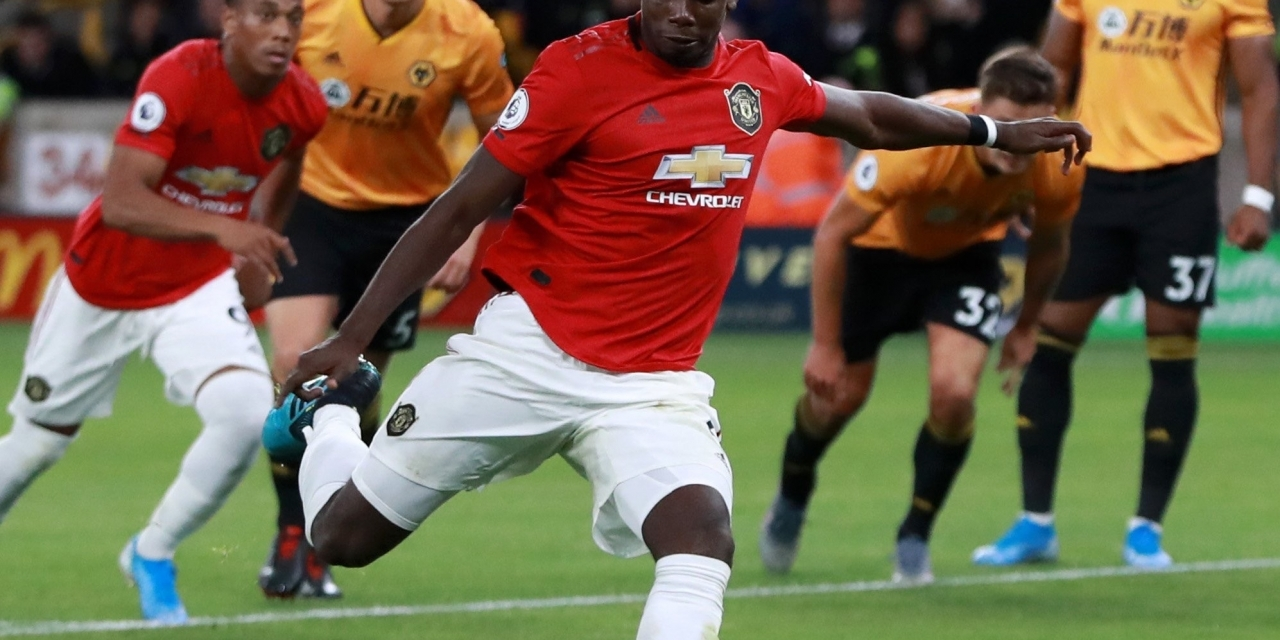 Pogba penalty miss proves decisive as Wolves, United share spoils