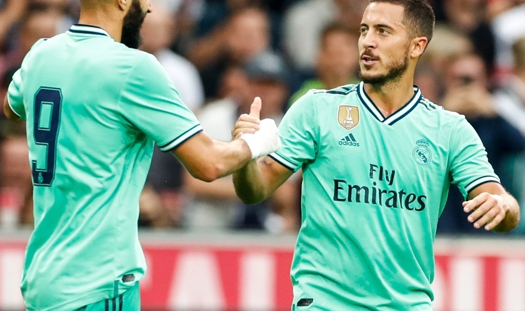 Video: Hazard scores first goal for Real Madrid