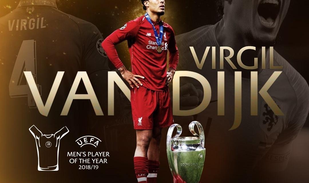 Virgil van Dijk wins UEFA Player of the Year