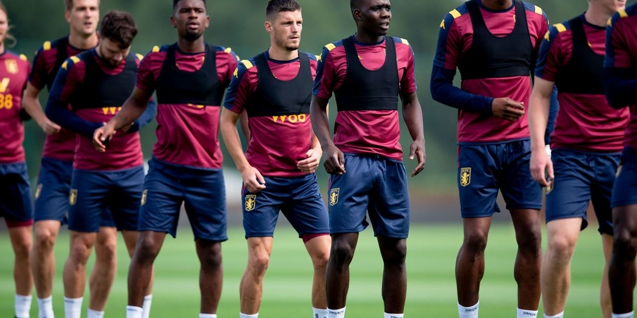 Video: Nakamba trains with his Villa teammates under the watchful eye of John Terry