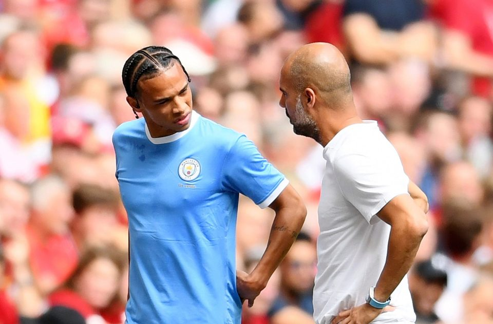 Guardiola expects Sane to miss up to seven months