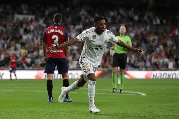 Real Madrid go top with comfortable win over Osasuna