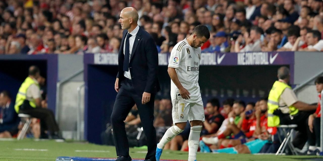 Is Hazard struggling at Real Madrid?