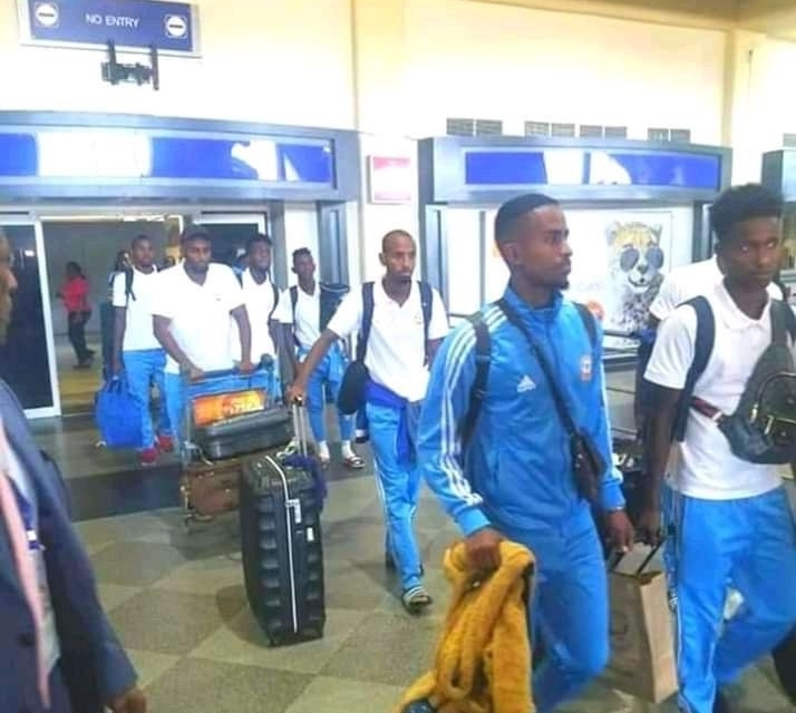 Ocean Stars of Somalia touch down for Warriors showdown