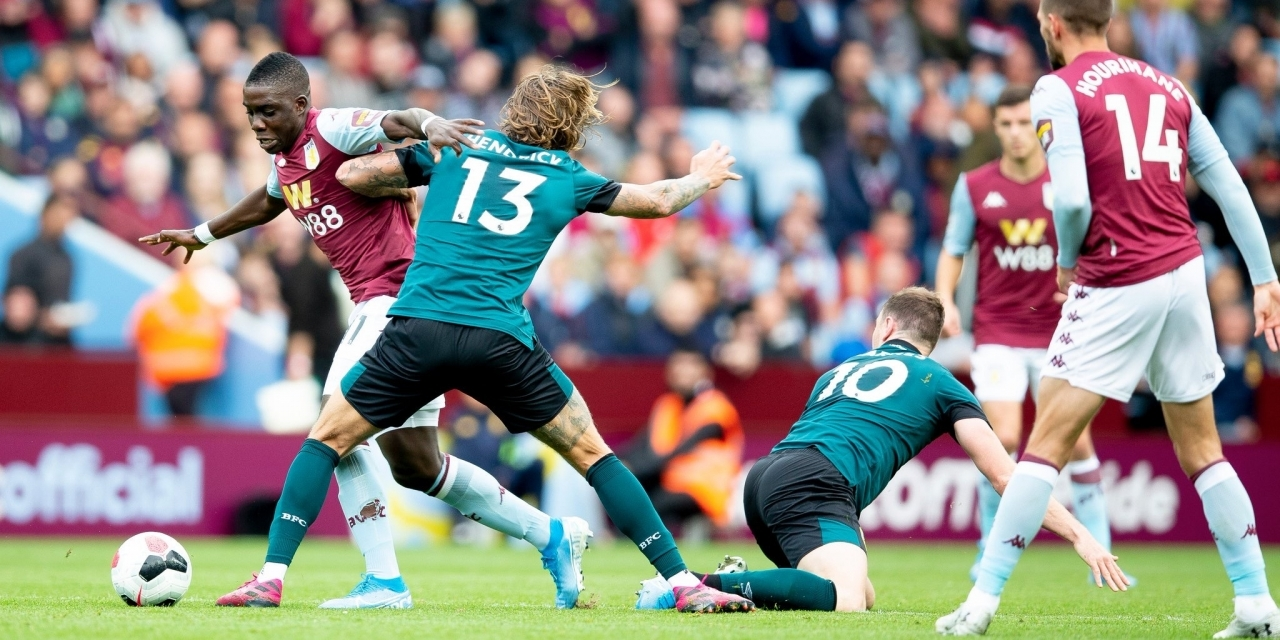 Nakamba's Aston Villa held at home by Burnely