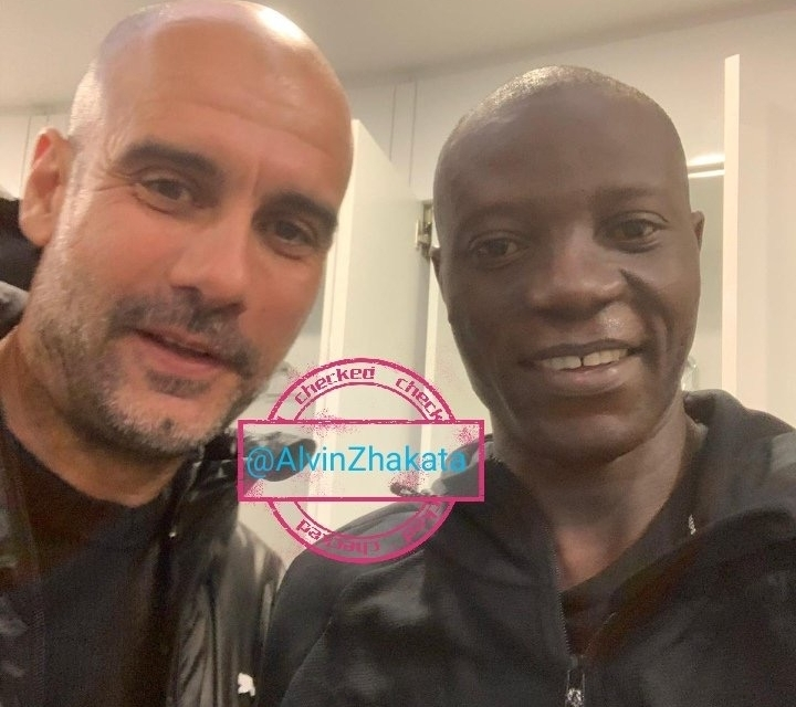 Gallery: Benjani hangs out with with some of Europe's finest