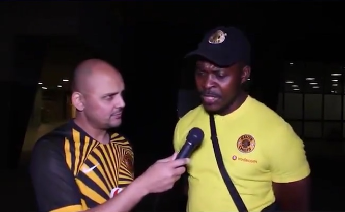 Video: Kaizer Chiefs fan defends Billiat for turning up for Warriors game