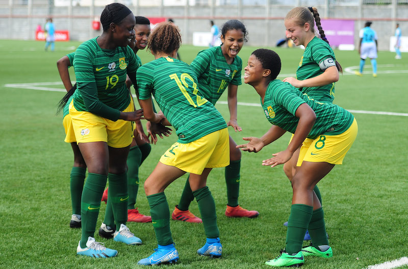 Zim lose 7-0 to South Africa in COSAFA U17 Women tourney