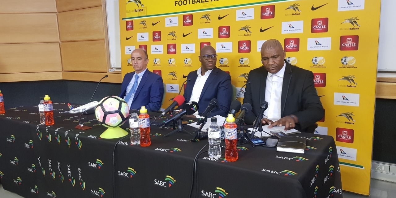 Bafana Bafana squad for AFCON qualifiers named