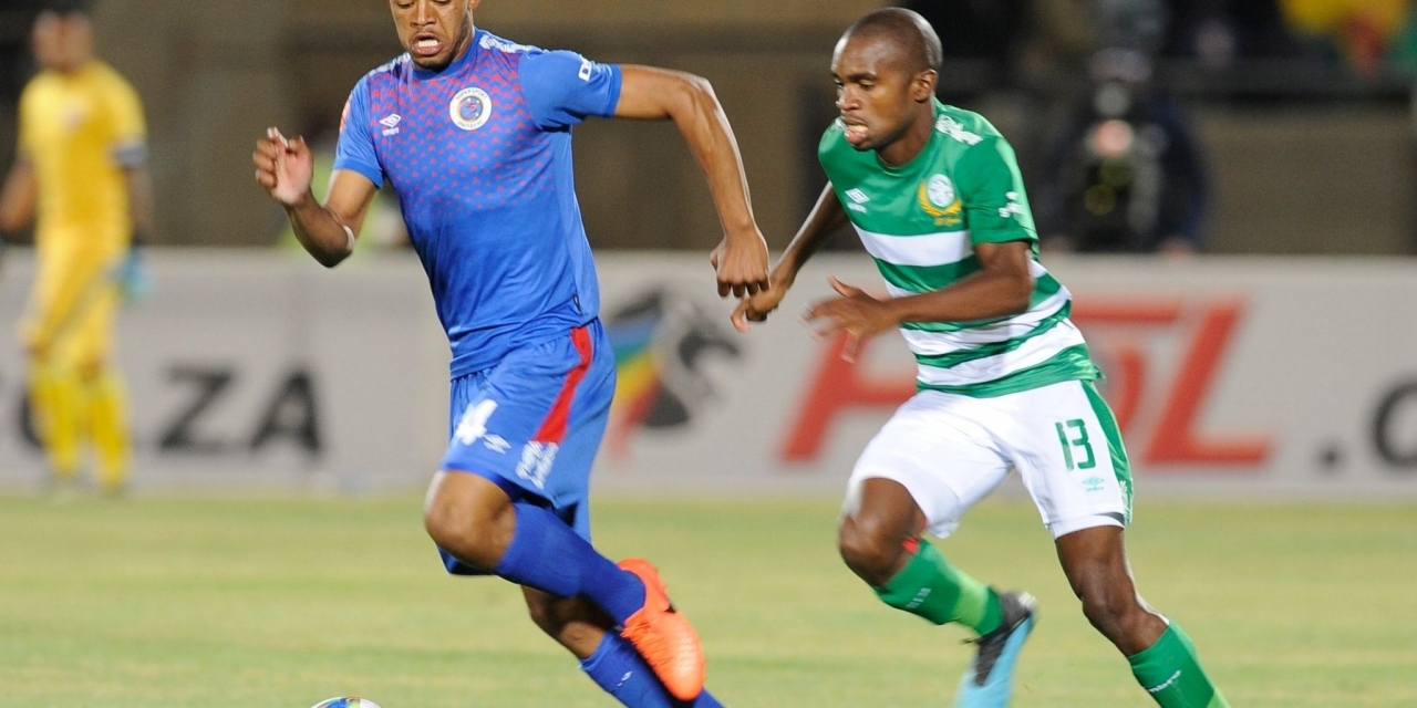 Kaitano Tembo's SuperSport United, Bloem Cetic share spoils