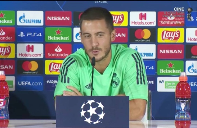 Following Cristiano's footsteps isn't easy, admits Hazard