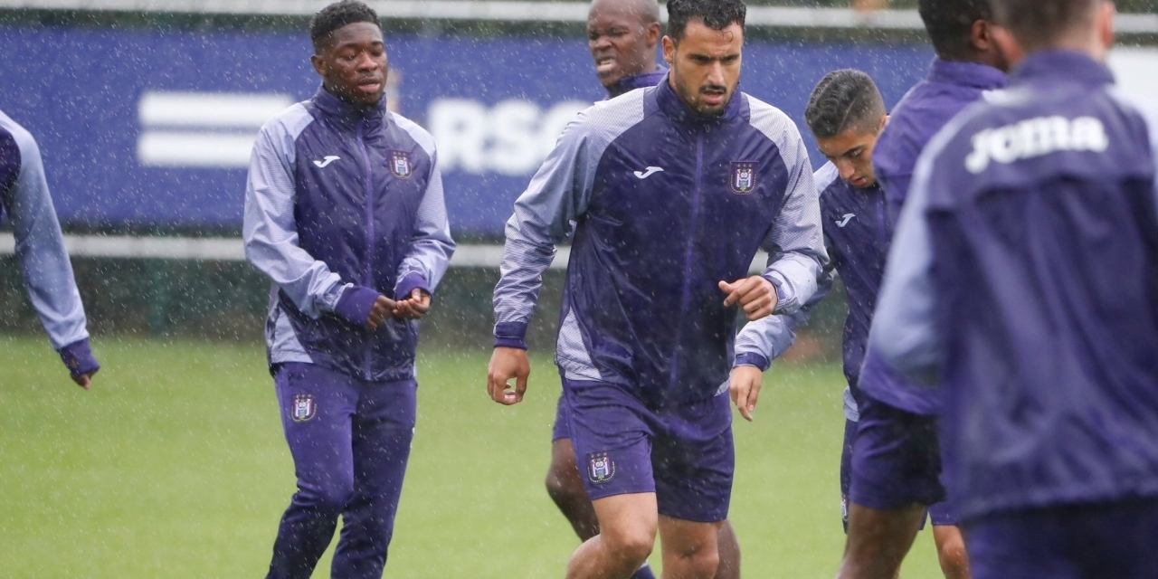 Musona trains with Anderlecht first team ahead of tomorrow's game