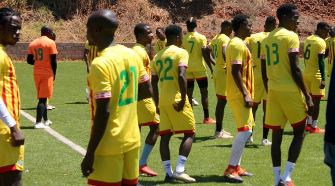 Warriors leave for Lesotho