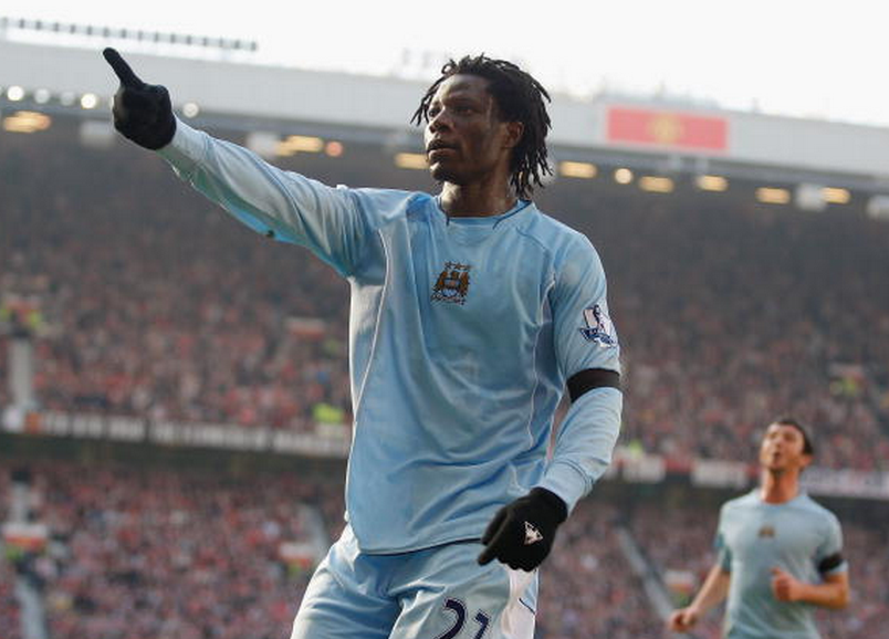I was assigned bodyguards after scoring in the Manchester derby: Benjani