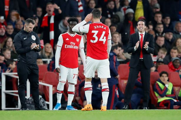 Arsenal coach blasts Xhaka's behaviour, reveals how he intends to deal with the skipper