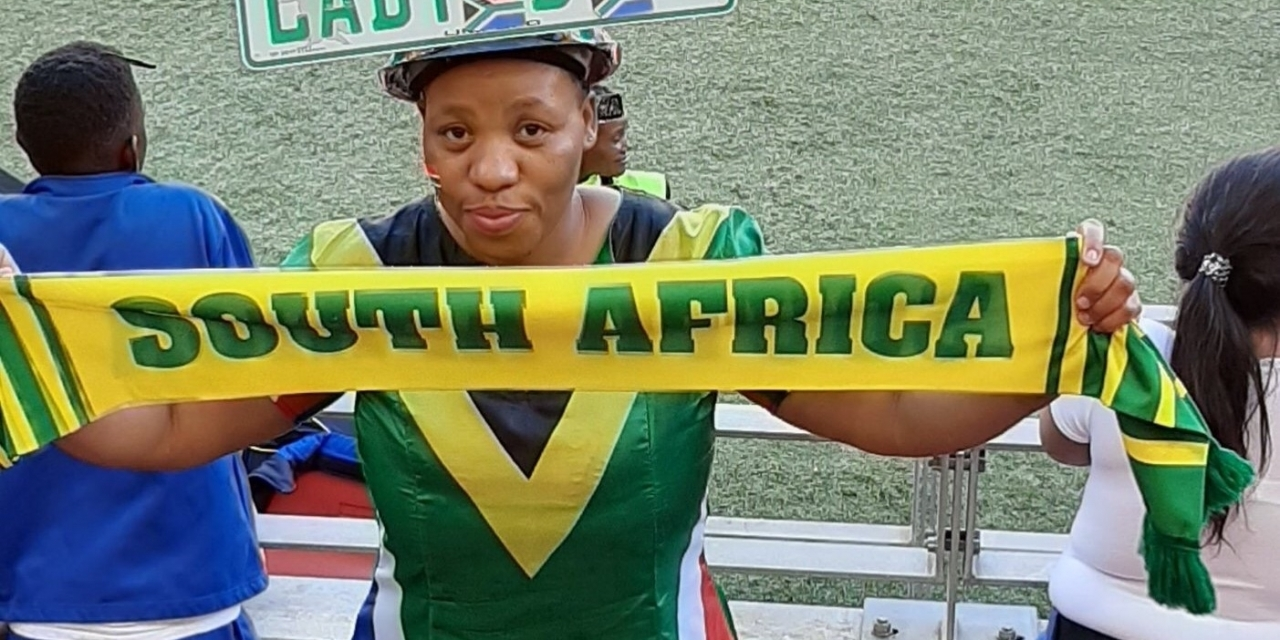 Popular South African fan in Zim to cheer on Warriors against Botswana