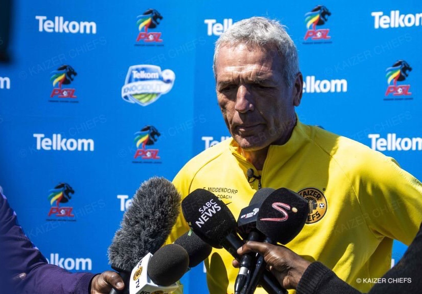 Middendorp tears into Warriors technical department again over Billiat