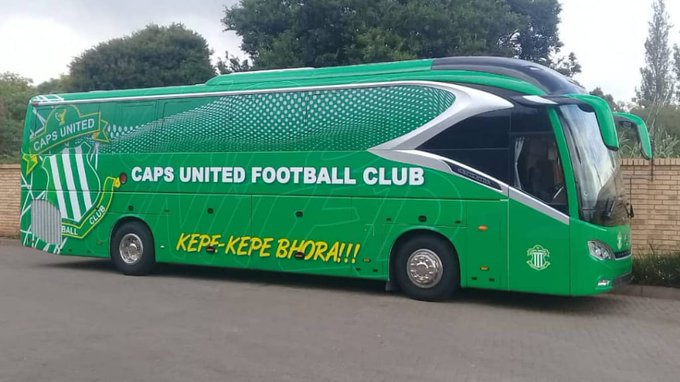 CAPS United reveal when they will officially unveil their new bus