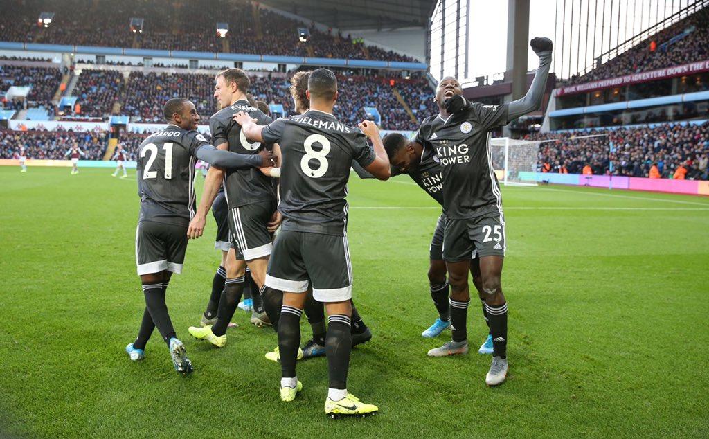 Vardy shines as impressive Leicester thump Aston Villa