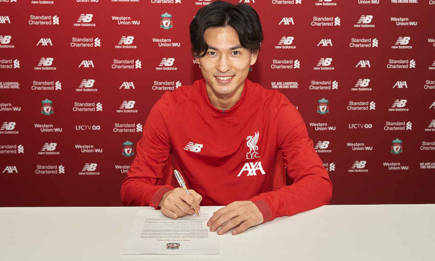 Liverpool make first mid-season signing