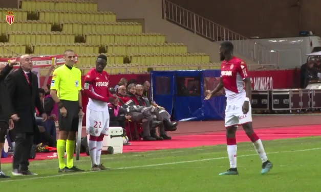 Watch: Bakayoko hilariously forgets his shirt number and leaves pitch as substitute