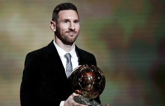 Messi wins Ballon d'Or 2019