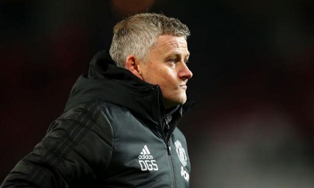 Solskjaer blames Liverpool defeat on fan protests