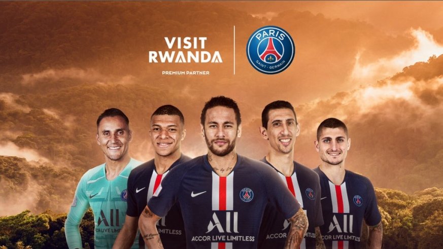 Rwanda signs sponsorship deal with PSG