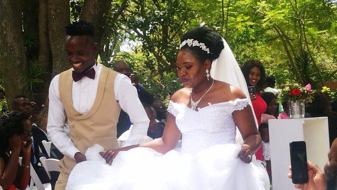 Gallery: Ronald Pfumbidzai's wedding